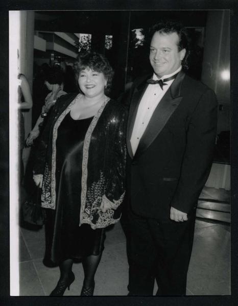1991 original photo roseanne barr amp tom arnold golden